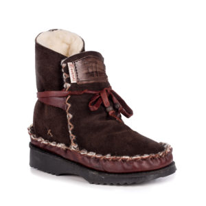 Tribal Boot Chocolate