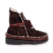 Tribal Boot Chocolate Side