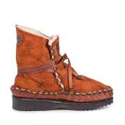 Tribal Boot Rust Side