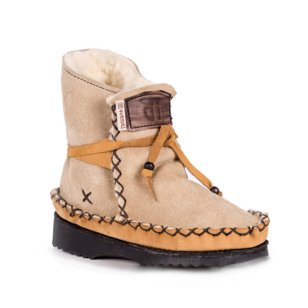 Tribal Boots Beige