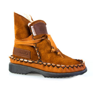 Sheep's-Wool-Boots-Rust