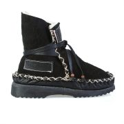 Sheep's Wool Boots Black