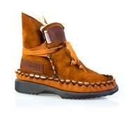Sheep's Wool Boots Rust