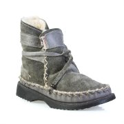 Sheep's Wool Boots Grey