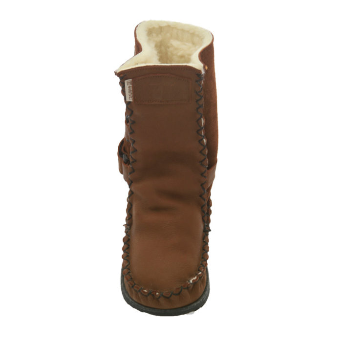 Gurmuki Sheep's Wool TRIBAL Handmade Boots in TALLLength, fits your Calf and is made of 100 % Leather Suede and Leather, 100% Sheep's wool lined throughout the boot including the foot bed with a 100% TR Rubber Sole. The new design is Stylish and Functional with the addition of the straps. In the Native American Indian Moccasin Boots Style, it is Unique, Stylish and Durable, not to mention Comfortable like wearing your slippers outside ! All Gurmuki Products are Handmade with Love, Proudly South African !