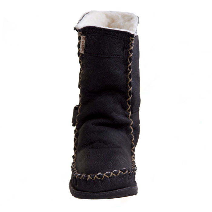 Gurmuki Sheep's Wool TRIBAL Boots in TALL, fits your Calf and is made of 100 % Leather Suede and Leather, 100% Sheep's wool lined throughout the boot including the foot bed with a 100% TR Rubber Sole. The new design is Stylish and Functional with the addition of the straps. In the Native American Indian Moccasin Boots Style, it is Unique, Stylish and Durable, not to mention Comfortable - like wearing your slippers outside !